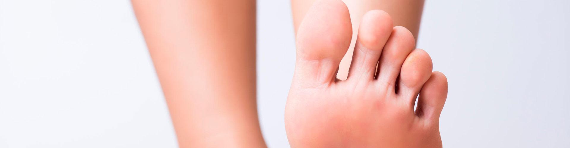 Tratamiento patología del pie